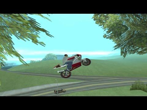 GTA San Andreas - All Unique Stunt Jumps