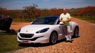 Teste Peugeot RCZ - Vrum