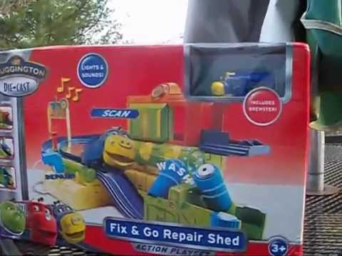 Chuggington: Fix and Go Repair Shed Review