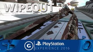 Wipeout: Omega Collection Announcement Trailer | PSX 2016