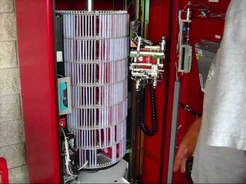 What's Inside a redbox DVD rental kiosk