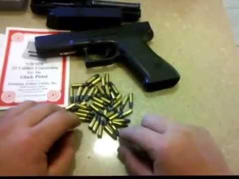 Ciener .22LR Caliber Conversion for Glock 17 & 22 Pistol (FULL REVIEW) DO NOT BUY