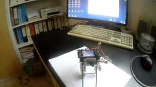 Micro Brushless Gimbal: 2-Axis Gimbal with KeyCam #16 V2