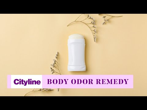 Natural ways to deal with body odor