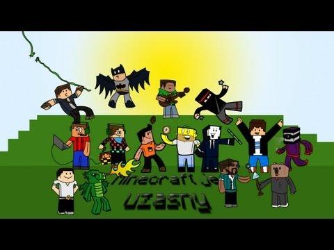 ♫ Minecraft je úžasny ♫ Song CZ-SK Letsplayerov