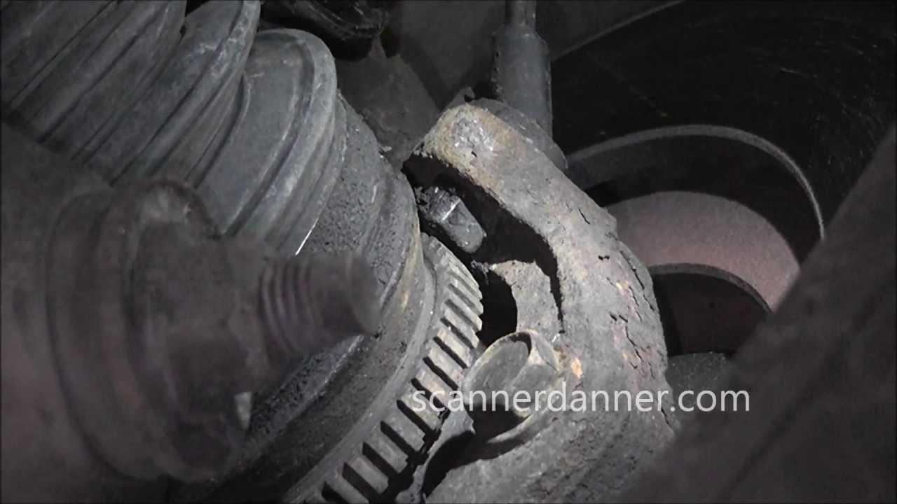 How to test a digital ABS wheel speed sensor - YouTube