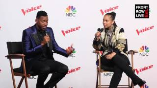 Download Lagu Chris Blue & Alicia Keys Press Conference The Voice Season 12 Finale Gratis STAFABAND