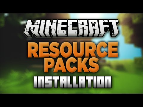 How to Install Resource Packs in Minecraft 1.8.1 (Texture Packs)