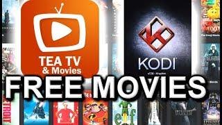 TeaTV VS KODI - WATCH FREE MOVIES SHOWS ON ANDROID MAC - CUT THE CORD