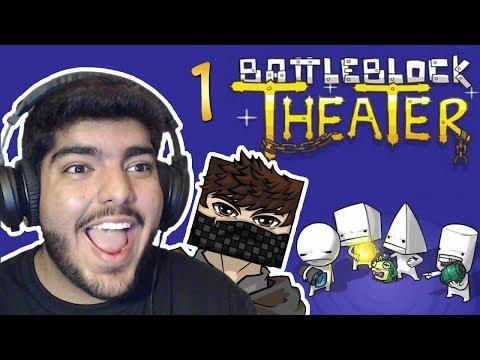 BattleBlock Theater w Fir4sGamer : طقطقنا على بعض Ep1