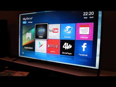 MyGica Ultra HD Enjoy TV Box Android TV ATV1800 Review