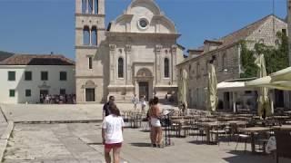 Hvar old town, Croatia | 4K