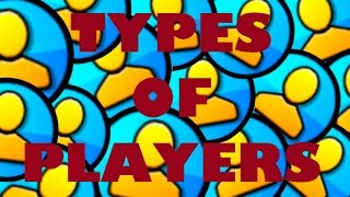 TYPES OF GEOMETRY DASH PLAYERS | Juniper