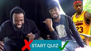 WHO'S THE BIGGEST LEBRON JAMES FAN QUIZ WITH OSN (OPRAH SIDE)!!