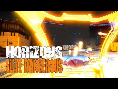 Elite: Dangerous Horizons - Huge Base Infiltration, Rescue Mission and Drone Attacks