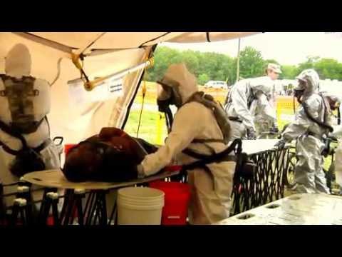 FEMA Region III Homeland Response Force Prepares for Large Biological Disaster