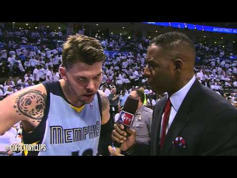 Zach Randolph & Mike Miller Full Combined Highlights at Thunder - 2014 Playoffs West R1G5