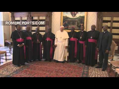 Pope meets with Bishops of Malawi in the Vatican