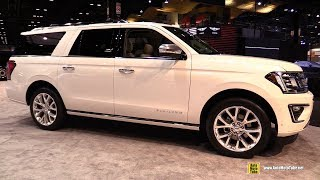 2019 Ford Expedition Max - Exterior and Interior Walkaround - 2019 Chicago Auto Show