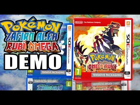 Pokémon Rubí Omega / Zafiro Alfa: DESCARGAR DEMO (Guia Completa) 2014.