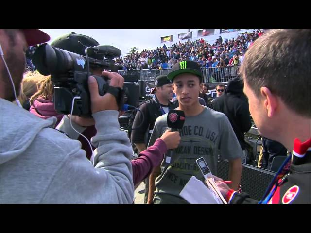 Nyjah Huston wins SLS gold