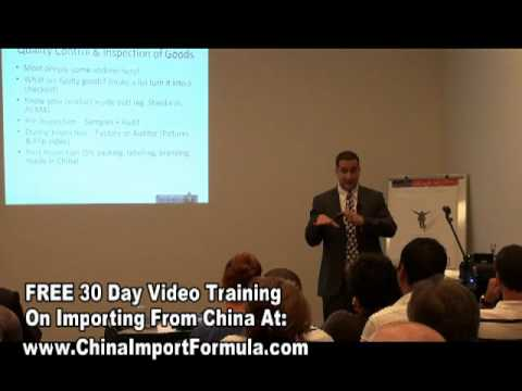 Importing From China - China Suppliers Pre Inspection Tips ( 11of 13)