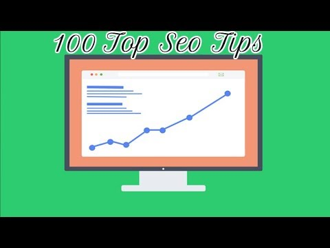 100 Top Seo Tips and Tricks