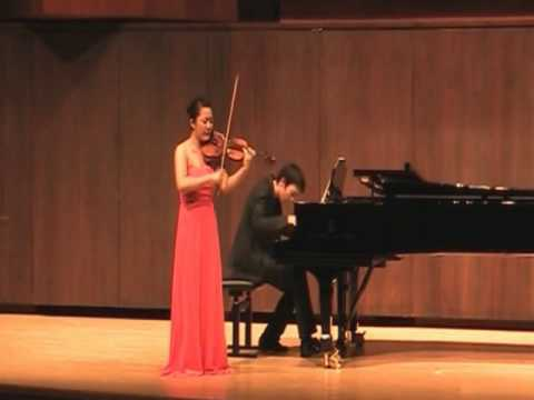 Jisoo Kim Franck Sonata ( 4th Mov )