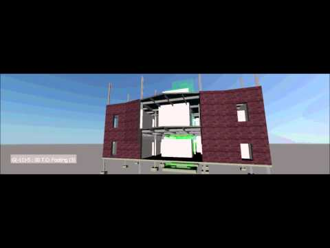 K.L. Saigal Bangla Nyara Dream Come true Naviswork 4D simulation...