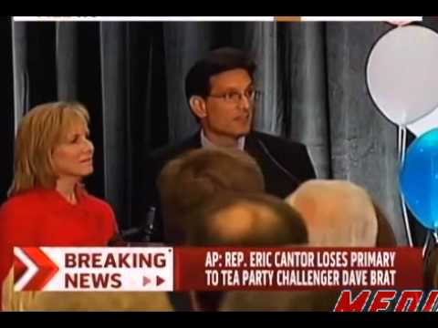 Eric Cantor Concession Speech after primary lost to Dave Brat
