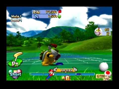 Let's Play Mario Golf: Toadstool Tour - Star Tournament - Lakitu Star Cup (Part 1 of 2)