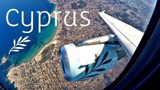 Cyprus Airways A319 Flight CY311 | ATH-LCA Trip Report | GoPro Wing View | Takeoff to Landing