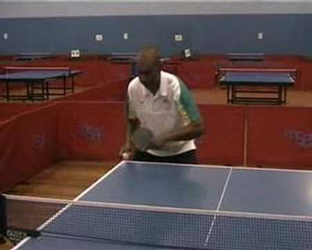 Table Tennis Backhand Push Lesson