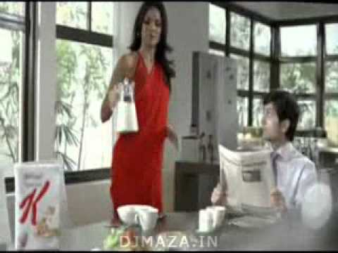 Lara Dutta In (kelloggs Ad)  Www.djmaza.in video