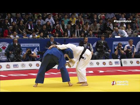 Mundial de Judô - Rússia -  Mayra Aguiar x Alena Kachororovskaya