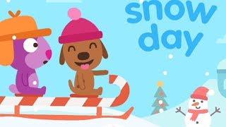 Sago Mini Sledding Game Sago Mini Playing In The Snow Game For Kids Sago Mini Snow Day
