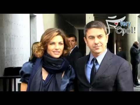 Martina Colombari and Billy Costacurta @ Giorgio Armani Fashion Show