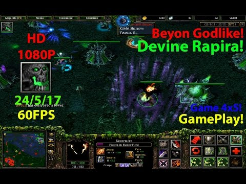 ★DoTa Nevermore SF - GamePlay 6.83★!KDA: 24/5/17!Devine Rapira!★Beyond Godlike!★