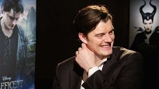 'Maleficent's' Sam Riley Interview: Awkward Moments with the Brit