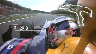 On board - Vettel's Spa lap record   2009 Belgian Grand Prix