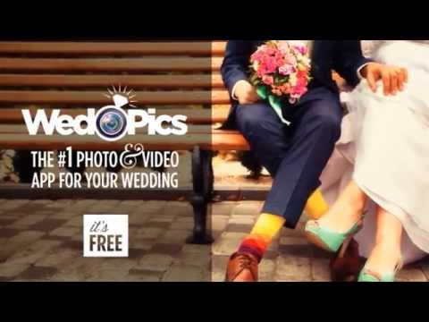 Wedpics the 1 photo video sharing app for weddings for Wedding photo sharing app