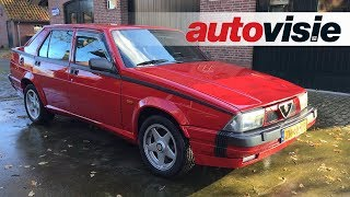 Peters Proefrit #17: Alfa Romeo 75 3.0 V6 QV (1991)
