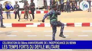 58 ANS D'INDÉPENDANCE DU BENIN: LES TEMPS FORTS DU DÉFILÉ