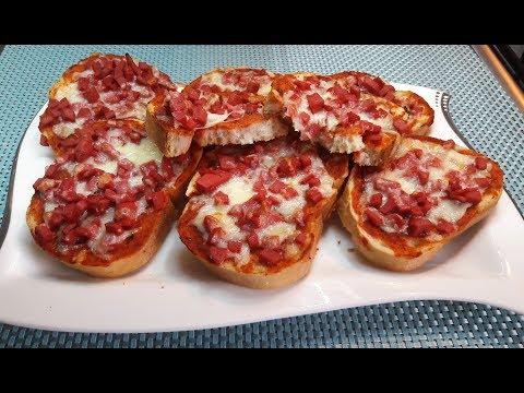 """Вкуснейшие горячие бутерброды! По вкусу напоминают """"пиццу"""""""