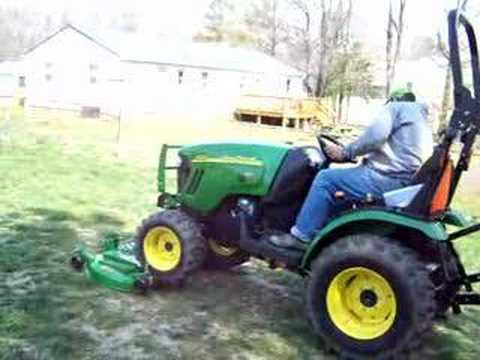 john deere 2320 hooking up 54d deck part 1 youtube. Black Bedroom Furniture Sets. Home Design Ideas
