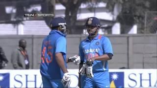 Rohit Sharma 50 vs zimbabwe