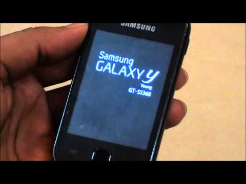 How to install ClockWorkMod in Samsung Galaxy Y S5360