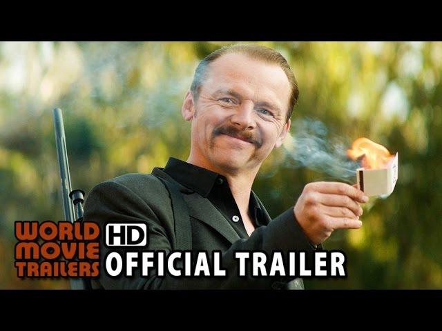 KILL ME THREE TIMES Official Trailer (2015) - Simon Pegg HD