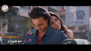 Tera hua whatsapp status video | loveratri | atif aslam whatsapp status | latest status 2018