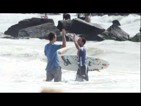 Quiksilver Pro New York Unsound Surf Trials Highlights